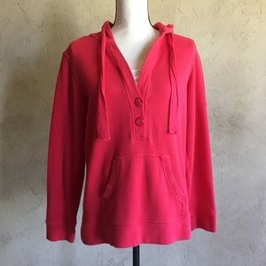 Coldwater Creek Red Pullover